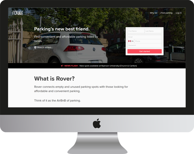 Rover Parking