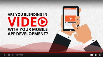Blending in video with your mobile app