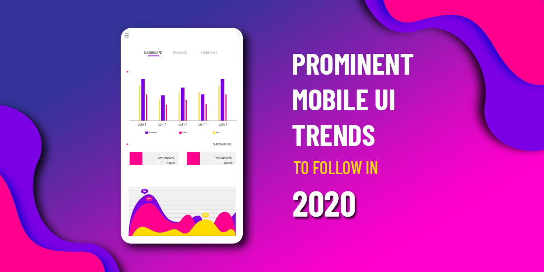 mobile ui design trends 2020