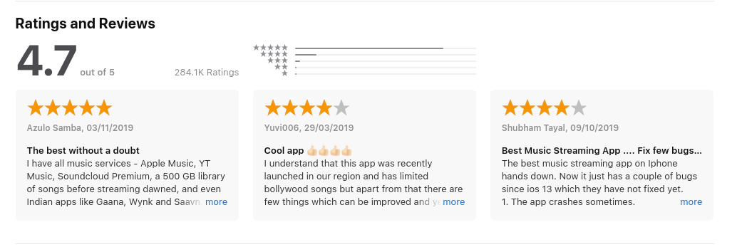managing app store ratings and reviews