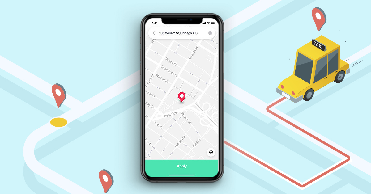 Geolocation For Uber like Taxi App